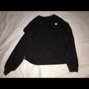 H&M black Mickey Shirt